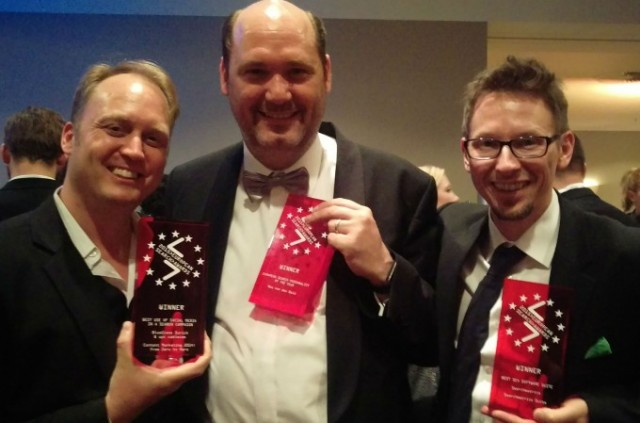 European Search Awards 2015: Patrick C. Price, Bas van den Beld, Marcus Tober